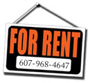 Apartment for rent - Phone 607-968-4647